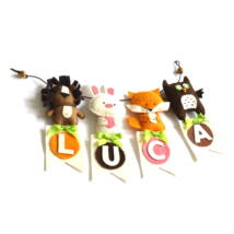 Állatos dekoráció - 4 betűs