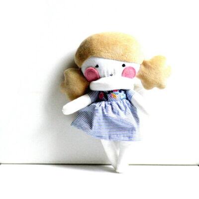 öltöztetős angyal textil baba