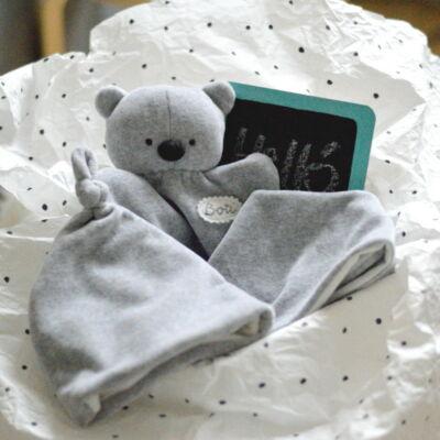 babaváró ajándék csomag névvel
