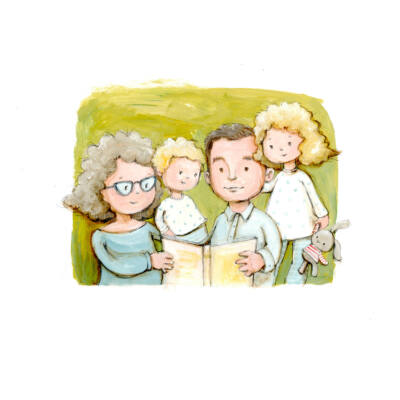 egyedi családi portré