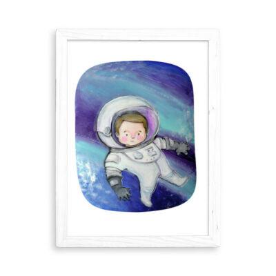 űrhajós grafika
