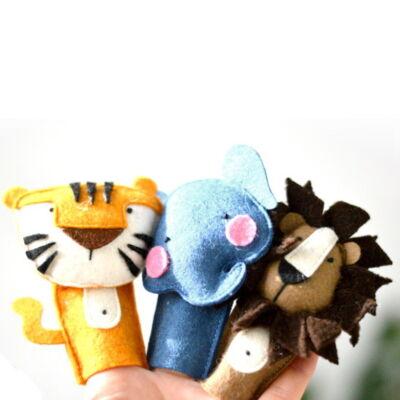 állatos ujjbáb